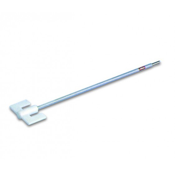 Stainless steel U-shaped stirrer shafts – PTFE coated