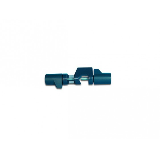 DOUBLE CLAMP IN LIGHTWEIGHT ALLOY